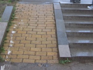 Yellow Brick Ramp